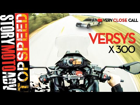 Kawasaki Versys X 300- Modded Versys TOP SPEED eXtreme REVIEW 2018