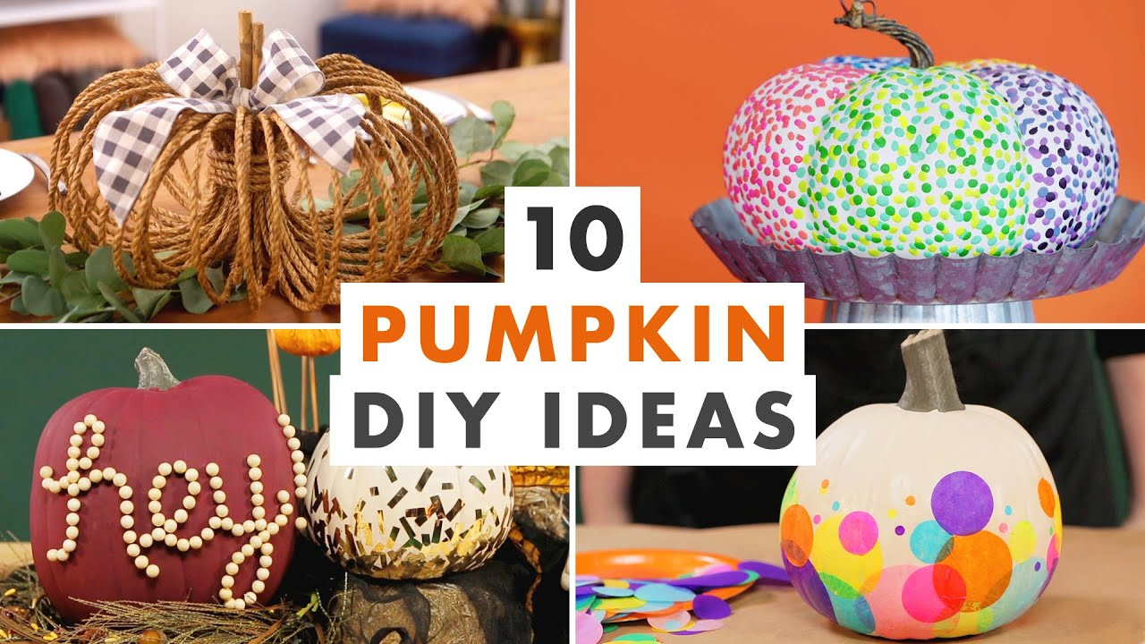10 Fall Pumpkin Decorating Ideas Diy Unicorn Pumpkins Pumpkin Kegs And More Hgtv Handmade