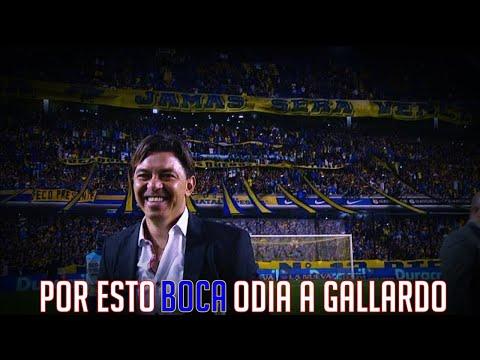 Por esto BOCA ODIA a Marcelo GALLARDO