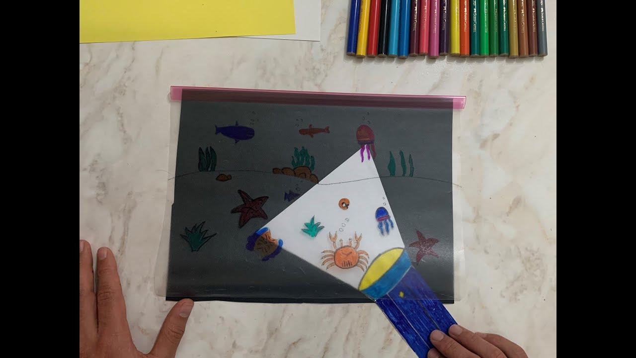 Fener İle Aydınlatma Oyunu - Okul Öncesi Etkinliği - YouTube