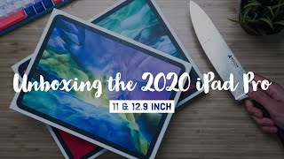 Unboxing the New 2020 iPad Pro | 11 & 12.9 Inch Versions