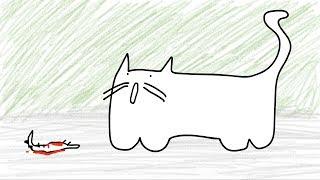 Twój kot vs kot Darka - animacja Dem3000