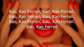 Jelena Karleusa & Teca & Nesh - FERRARI 2013 lycris (tekst)
