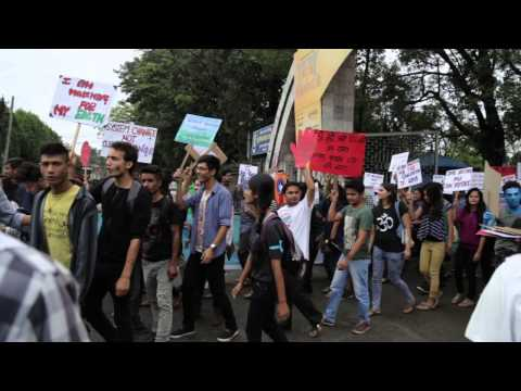 People's Climate March Kathmandu 20September 2014-Event Day