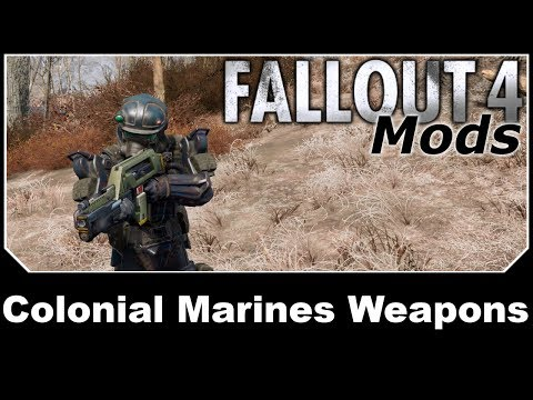 Fallout 4 Mods - Colonial Marines Weapons