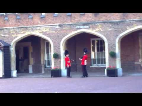 The Grenadier Guards at St James Palace