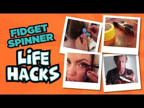 Fidget Spinner LIFE HACKS // Pass or FAIL? // The Holderness Family