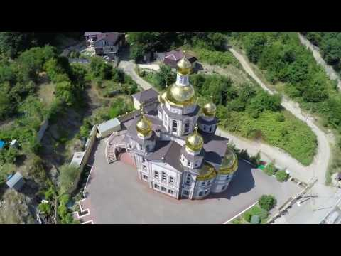 The small and beautiful city of Tuapse in Russia