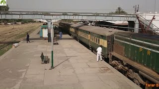 Traveling by Passenger Train Sargodh to Shorkot Pakistan Railways Train Route Journey 2018