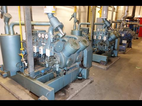 NH3 ammonia/glycol installation