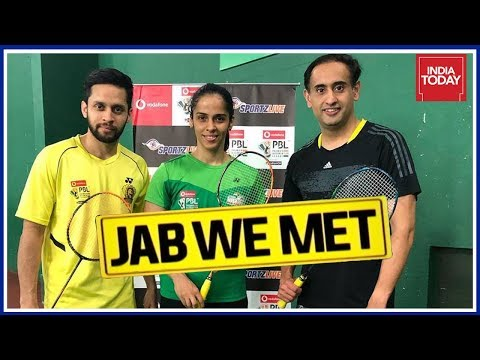 Badminton Power Couple, Saina Nehwal & Parupalli Kashyap With Rahul Kanwal | Jab We Met