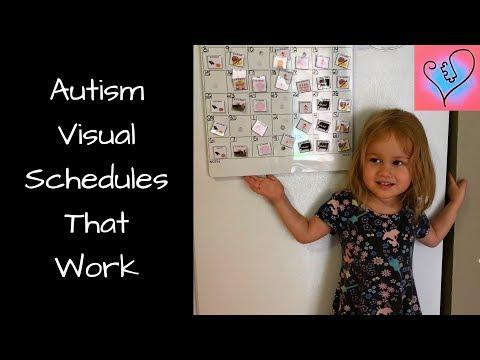 DIY Visual Schedules For Autism