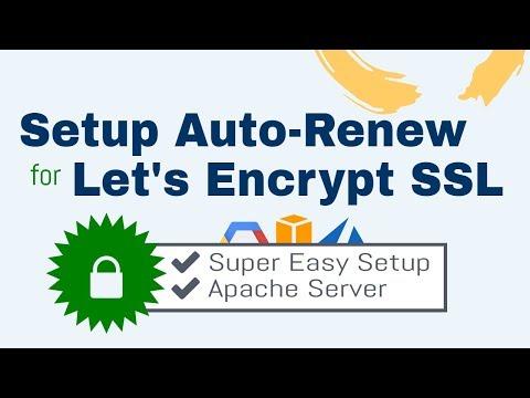 How to Setup Auto-Renew for Let's Encrypt SSL Certificates