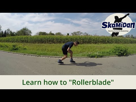 Inline Skating For Beginners - Proper Posture And Skating Techniques - Rollerblading - Basics #01