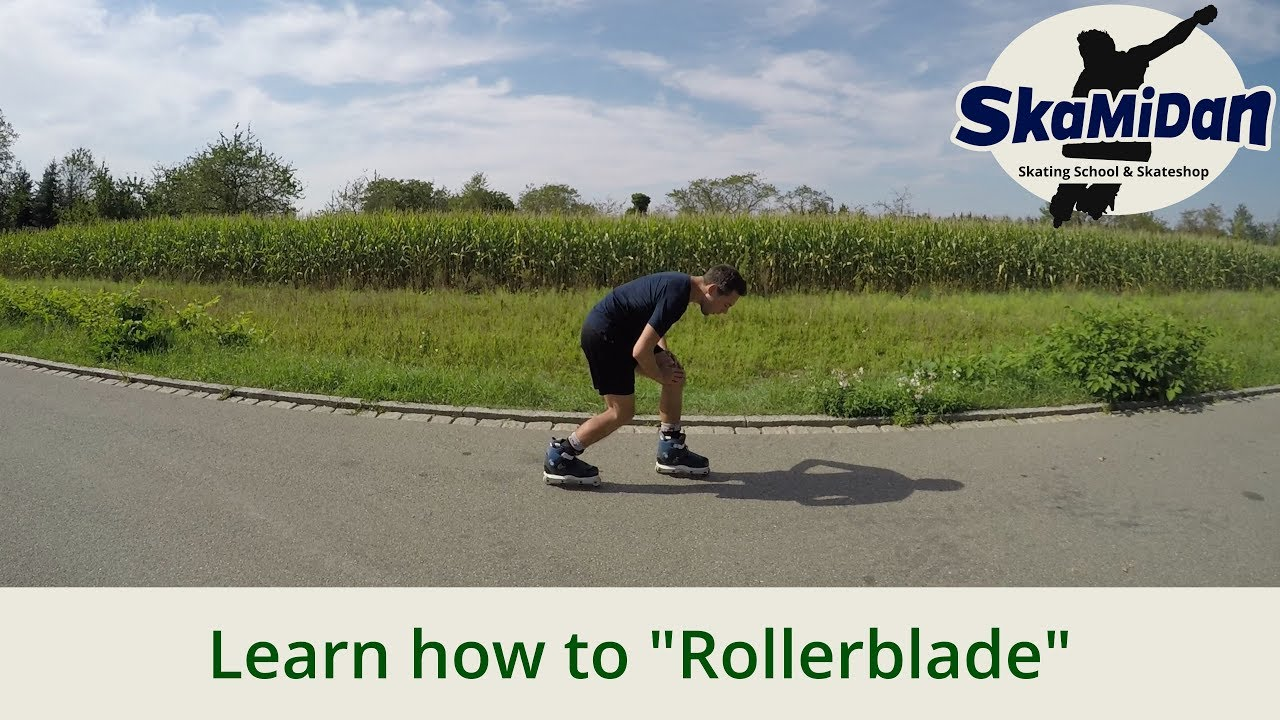 Inline Skating For Beginners Proper Posture And Skating Techniques Rollerblading Basics 01 Youtube