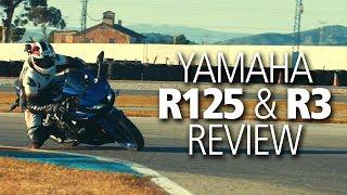 Yamaha R125 & R3 review (2019)   Good first bike?