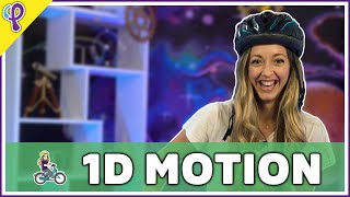 1D Motion & Kinematics - Physics 101 aka AP Physics 1 Review with Dianna Cowern
