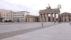 Corona in Berlin ohne Kommentar (Brandenburger Tor, Flughafen Tegel, Hauptbahnhof, Klopapier u.a.)