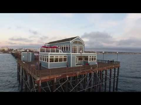 Drone flight 200, sunset in Oceanside
