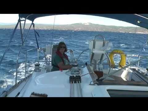 Halkidiki Sailing:  Storm and Sun