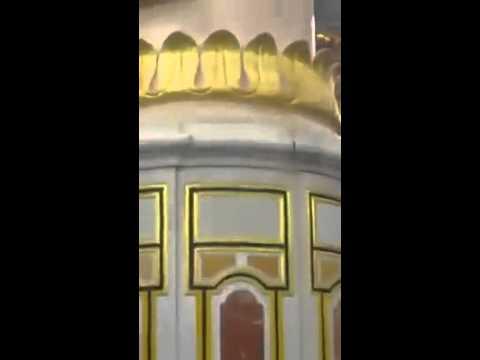 A tour of Riyadh ul jannah in masjid an nabawi