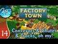 Factory Town Ep 14: NEW LEATHER SETUP - (Extremely Alpha!) - Let's Play, Gameplay