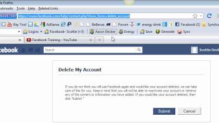 How To Delete Facebook Account In 2013 | How To Delete A Facebook Account