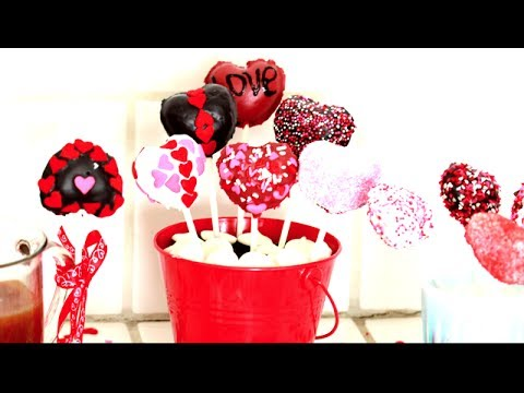 Valentine S Day Cake Pops Youtube