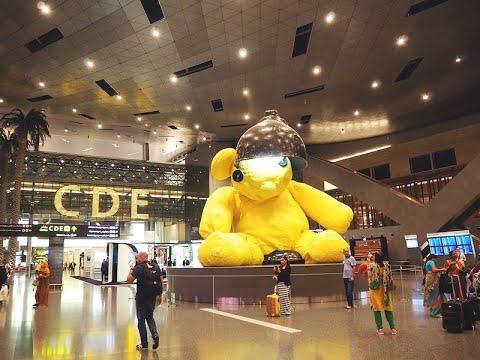 how Qatar airports look like