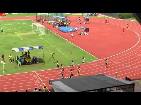 100m A Girls Final - 2014 National Schools T&F C'ships