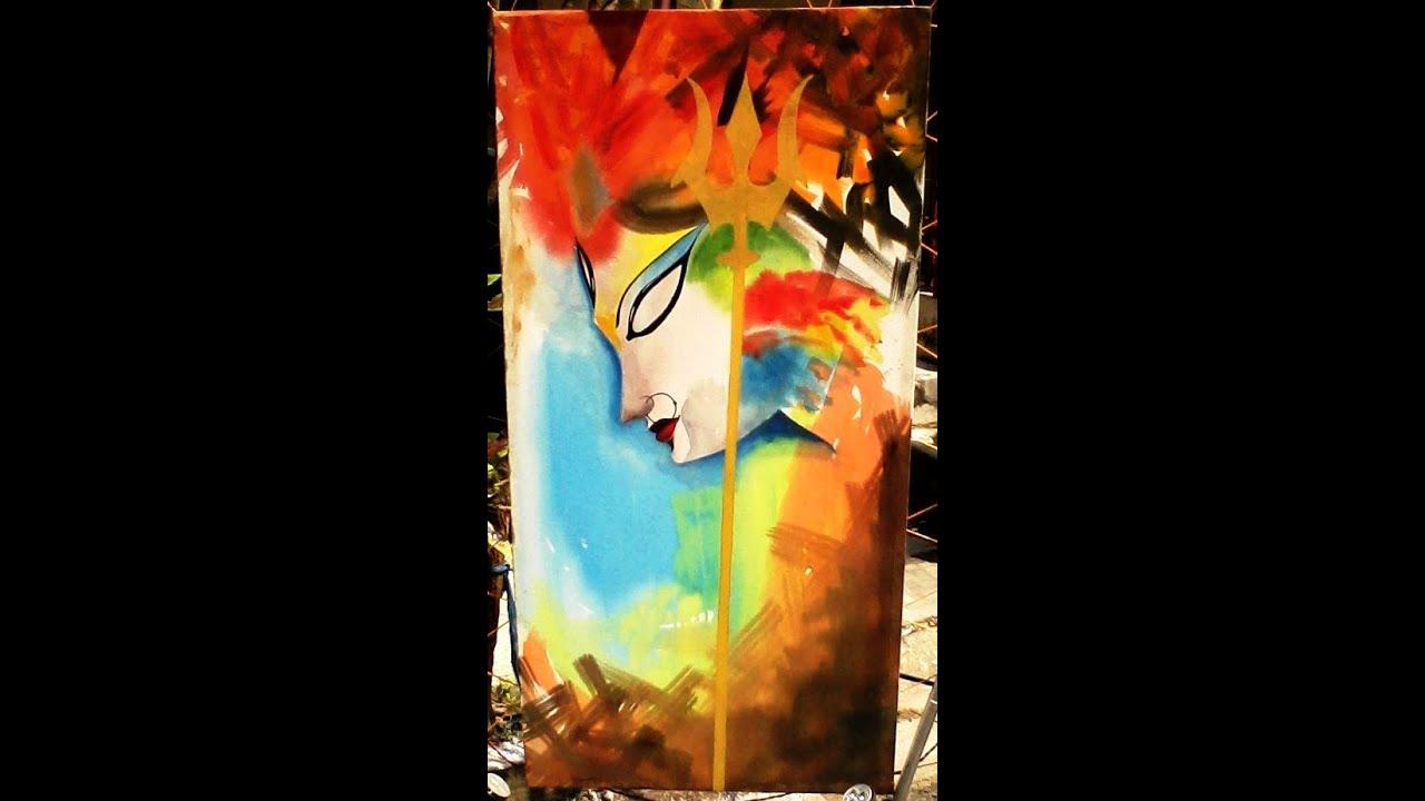 Goddess Durga In Modern Art Must See Youtube