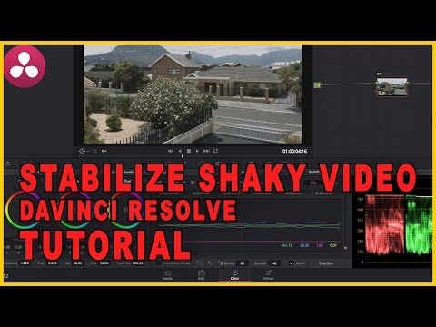 How To Stabilize Shaky Footage Using Davinci Resolve - Filmmaking Tutorial