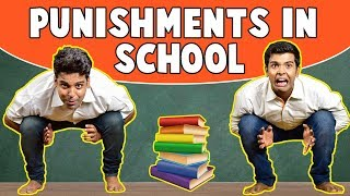 PUNISHMENTS in SCHOOL | The Half-Ticket Shows