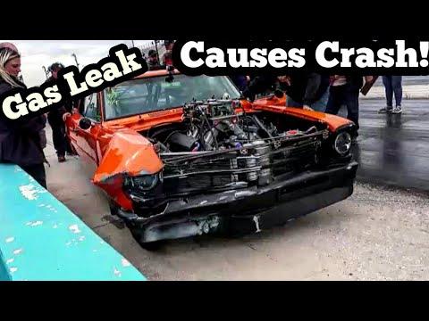 Nitrous Nova Spins 360 In Crazy No Prep Crash!!