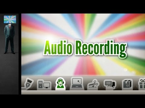 How to Record Audio for your Screencast