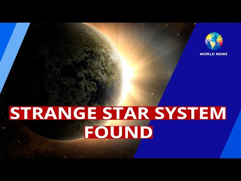 Strange Star System Found / Space / World News