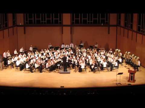 2014 Fall Prairie Point 7th grade band concert - Racing the Sun