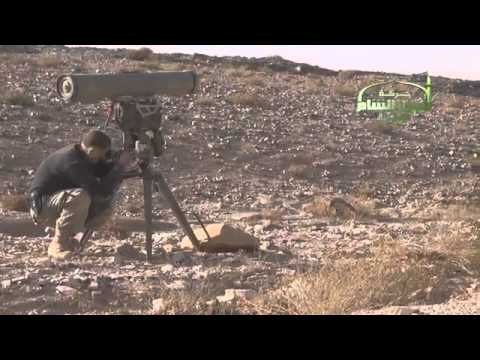 Syrian Rebels use Kornet ATGM in battle for Mahin weapon stores