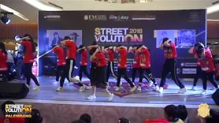 Waacking Class EVO DANCE SCHOOL at StreetVolution Palembang 2018