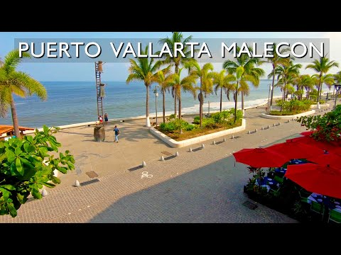 Puerto Vallarta Malecon (Boardwalk) a City Favorite. Where is it?