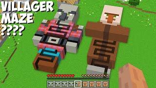 MAZE INSIDE VILLAGER VŠ MAZE INSIDE PILLAGER in Minecraft ! WHICH MAZE IS BETTER ?