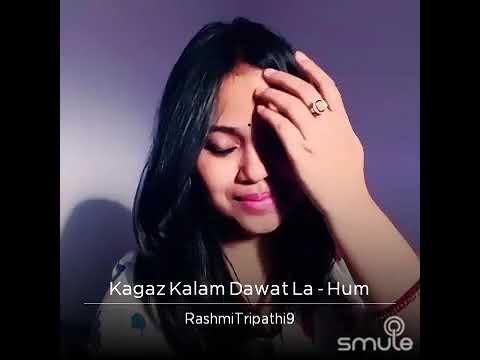 Kagaz kalam dawat la (Karaoke 4 Duet) Rashmi Tripathi