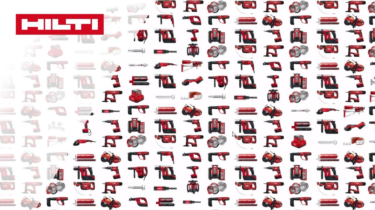 Vorstellung Des Hilti Katalogs - Unsere Produkte Und Services