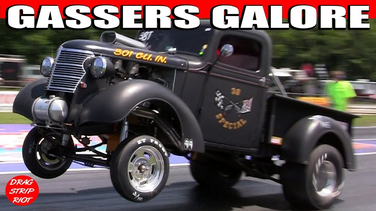 Old Gasser Drag Cars