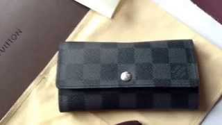 Louis Vuitton Car Key Holder in Damier Graphite