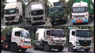 Truck Trailer Hino Besar dan Panjang | Hino 500 Trailer Truck | Big Truck & Long Vehicle [Kompilasi]