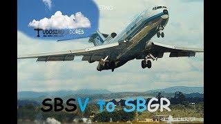 Live Stream - Voo de Salvador para São Paulo Guarulhos 727 Captain Sim IVAO