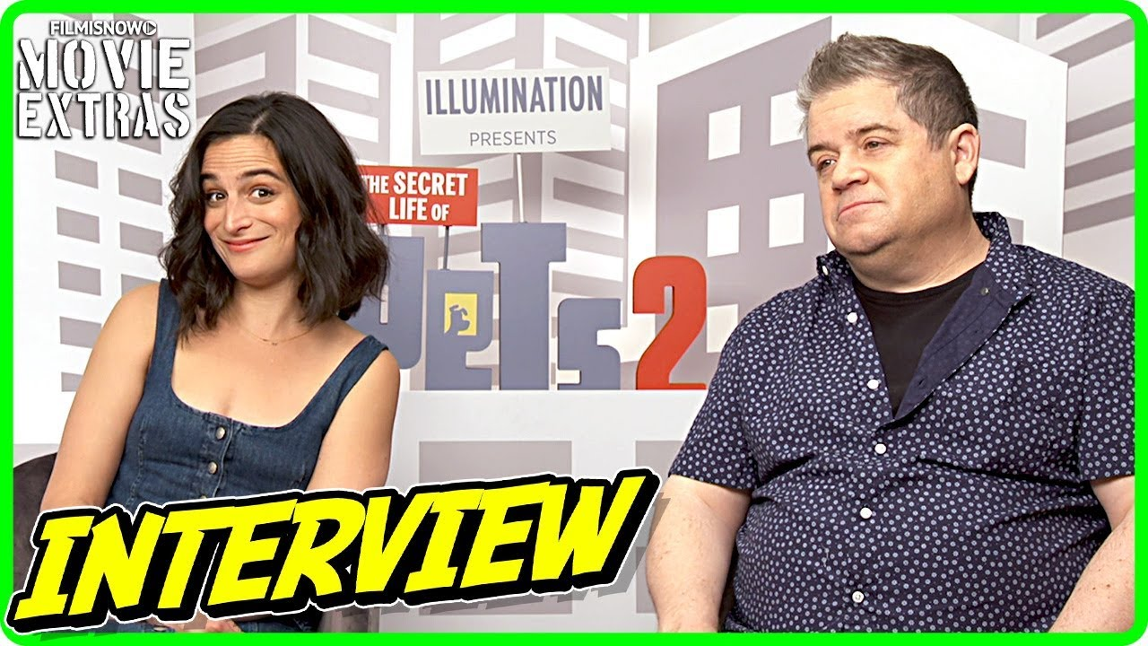 THE SECRET LIFE OF PETS 2 | Patton Oswalt And Jenny Slate talk about the movie - Official Interview