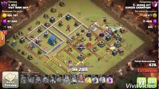 3 star war attack th12 40 miner clone zeplin