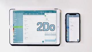아이폰 아이패드로 스마트한 일정관리! 강력한 생산성 앱 2do 사용 방법 ios 2do app guide